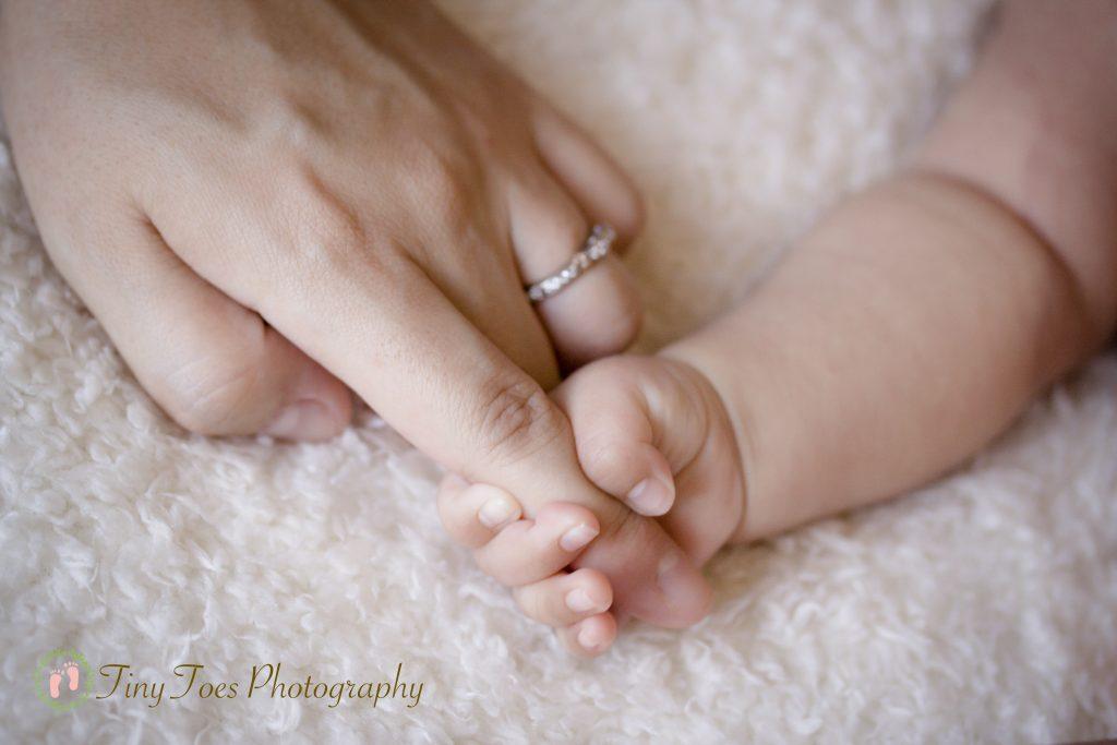 赤ちゃん女の子写真新生児フォトタイニートーズ