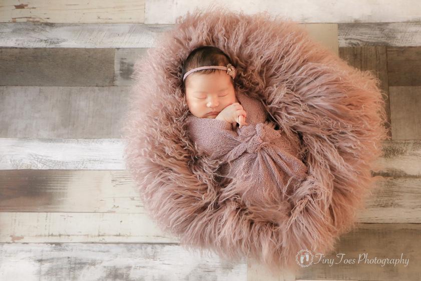 タイニートーズ女の子赤ちゃん新生児フォトニューボーンフォト島田市藤枝市焼津市静岡市0歳0ヶ月