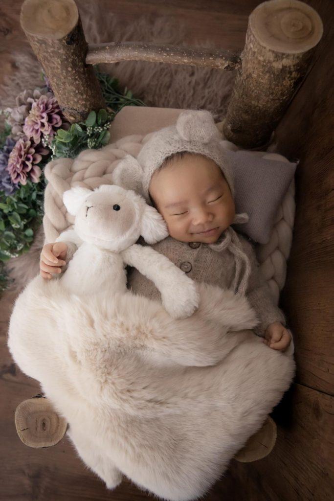 タイニートーズ男の子赤ちゃん新生児フォトニューボーンフォト島田市藤枝市焼津市静岡市0歳0ヶ月