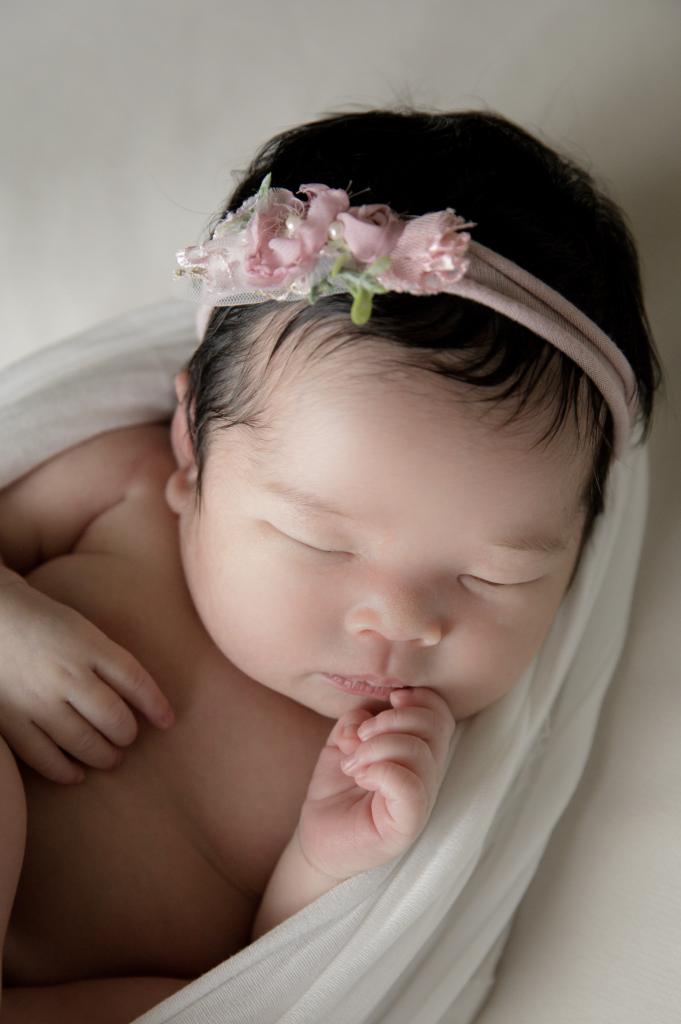 タイニートーズ女の子赤ちゃん新生児フォトニューボーンフォトマタニティフォト島田市藤枝市焼津市静岡市0歳0ヶ月